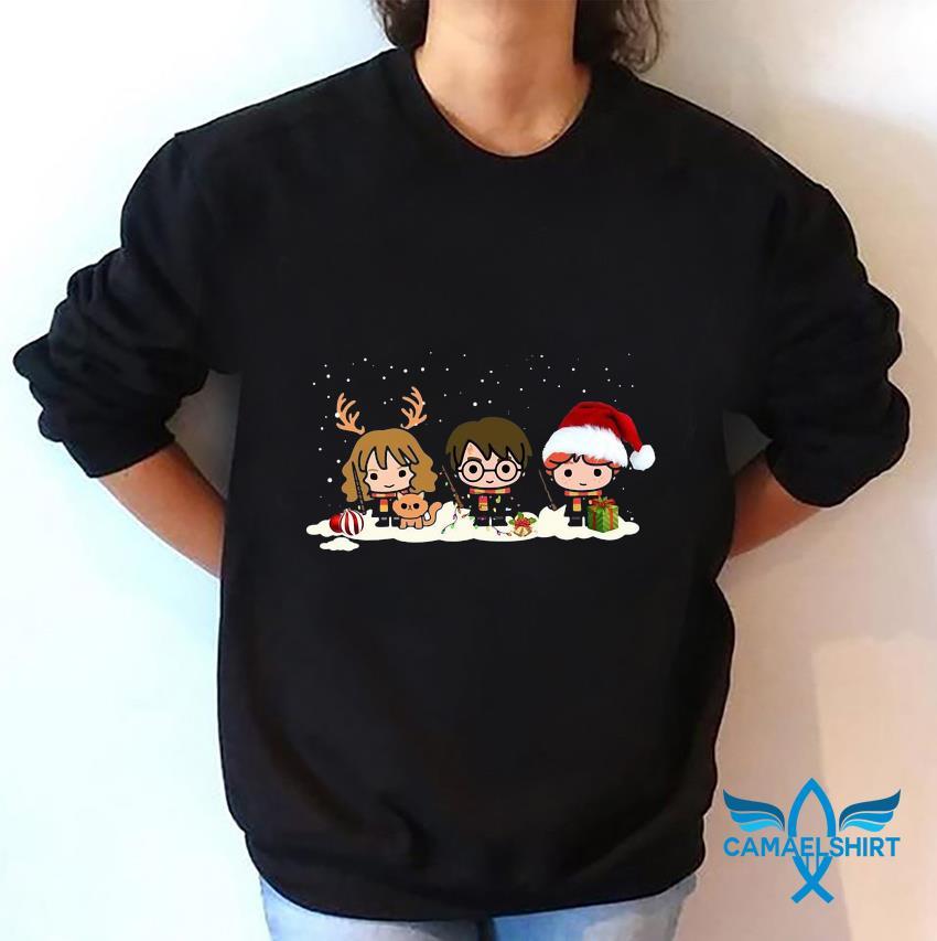 Harry Potter Characters Merry Christmas t-s sweatshirt