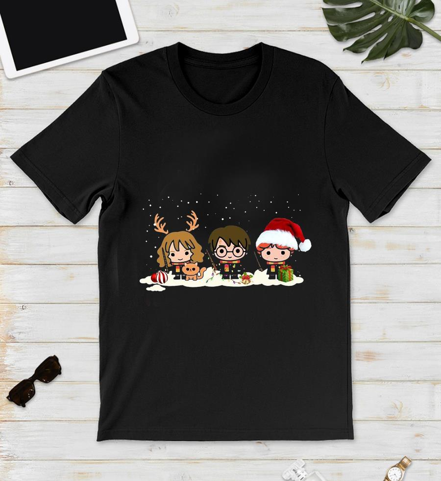 Harry Potter Characters Merry Christmas t-s unisex