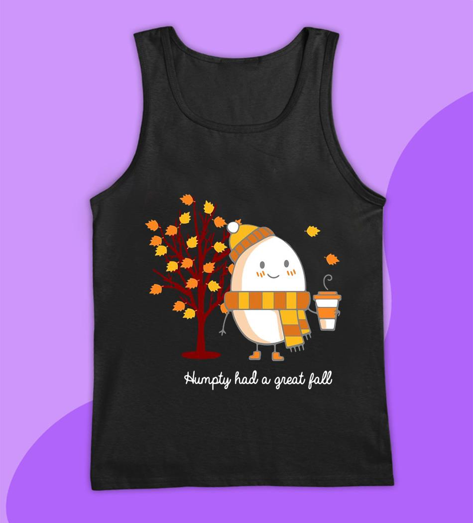 Humpty had a great fall Harry Potter t-s tank top