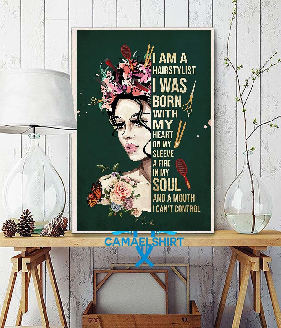 I am a hairstylist poster wall decor