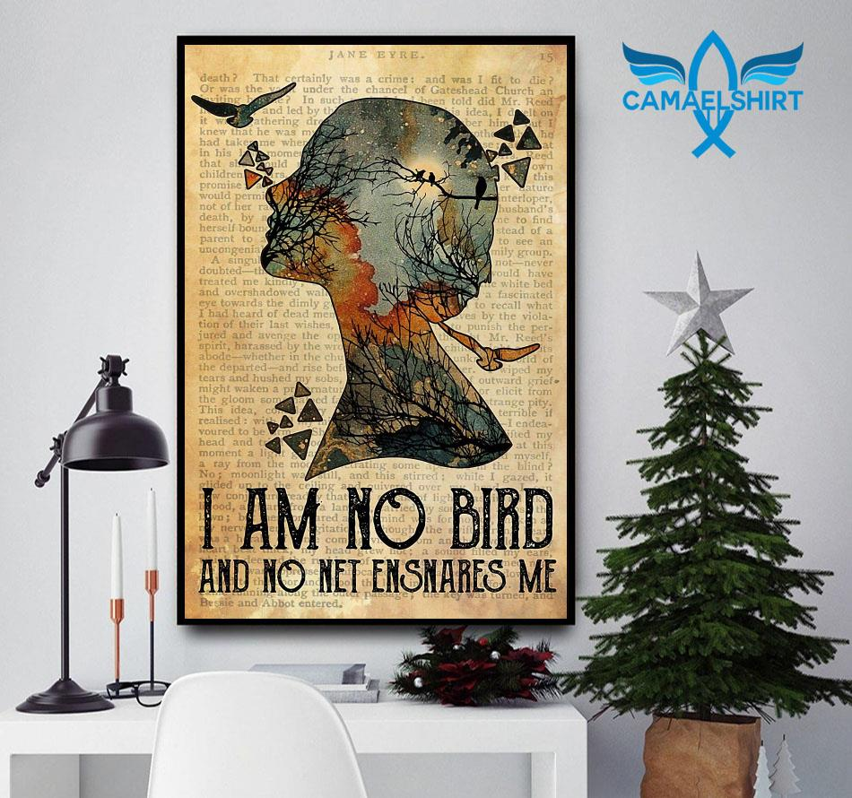 I am not a bird and no net ensnares me poster