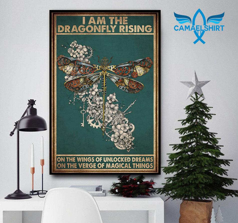 I am the dragonfly rising poster