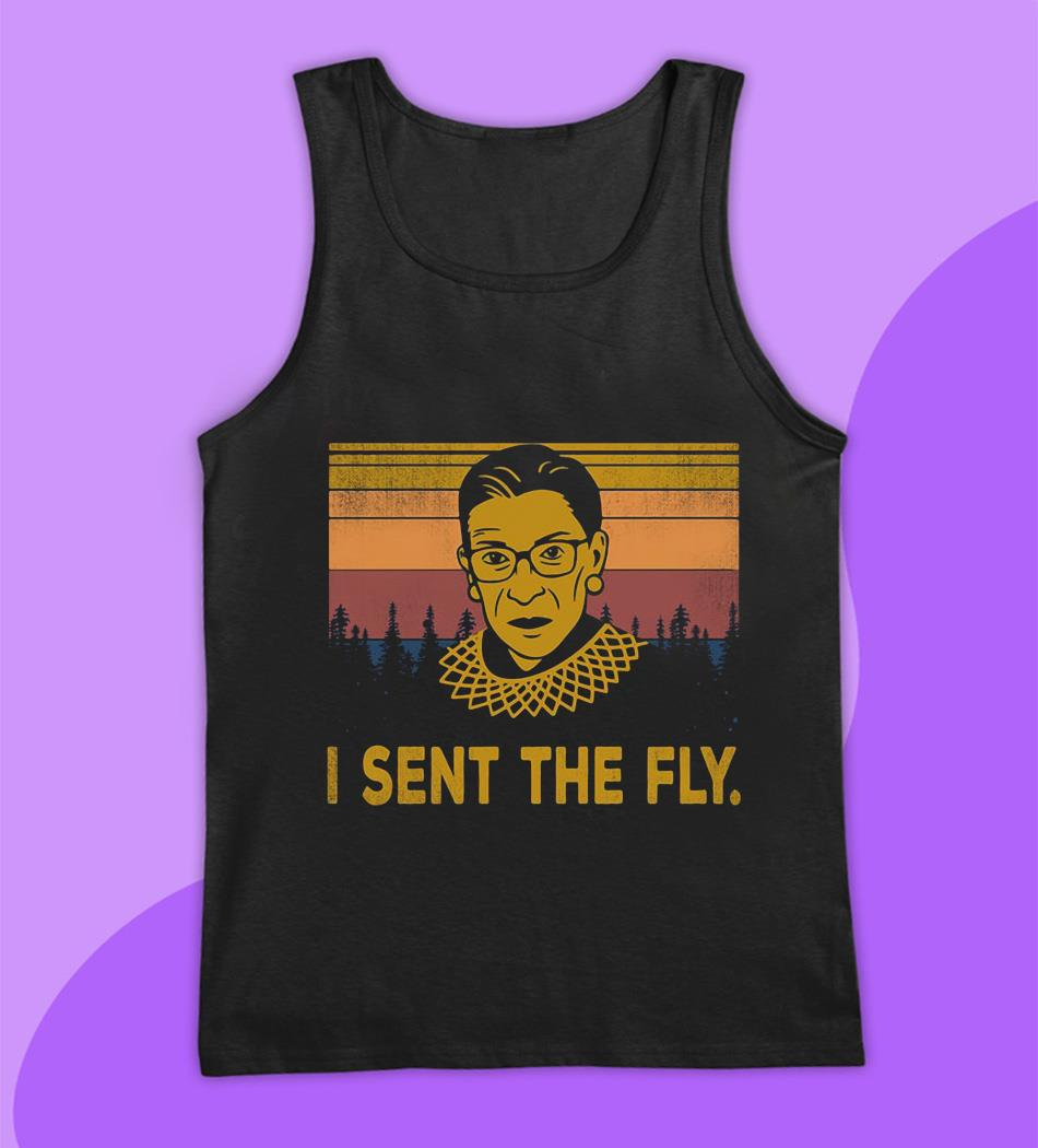 I sent the fly RBG vintage t-s tank top