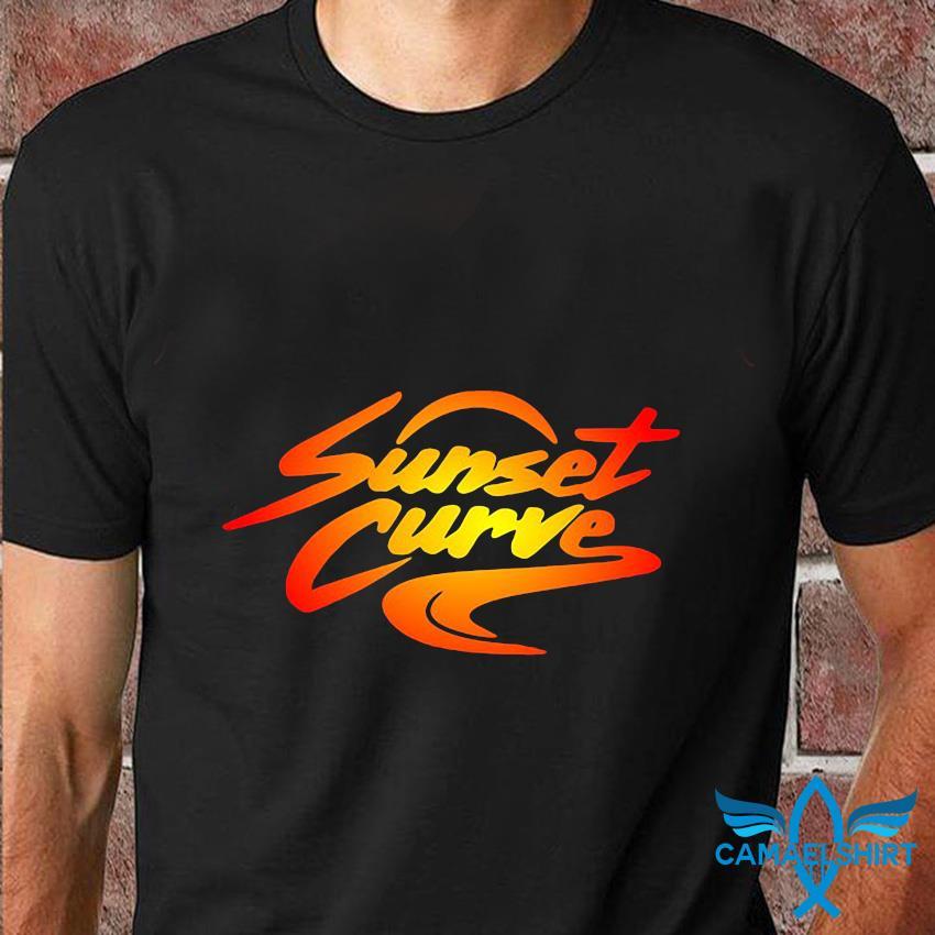 Sunset Curve retro vintage t-shirt