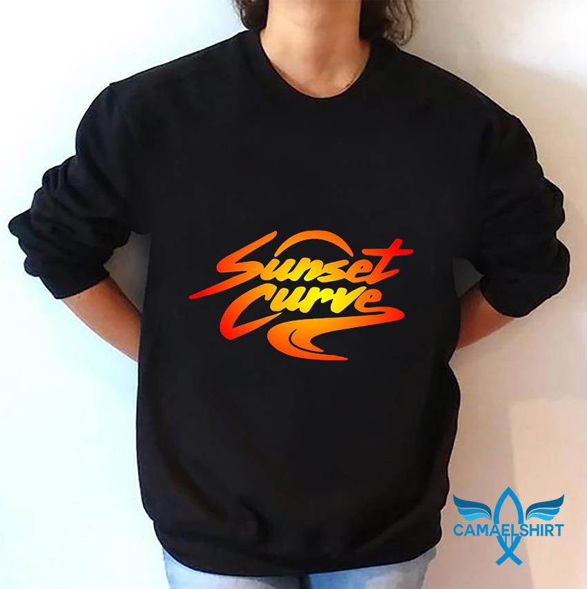 Sunset Curve retro vintage t-s sweatshirt