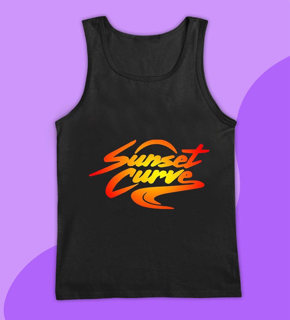 Sunset Curve retro vintage t-s tank top