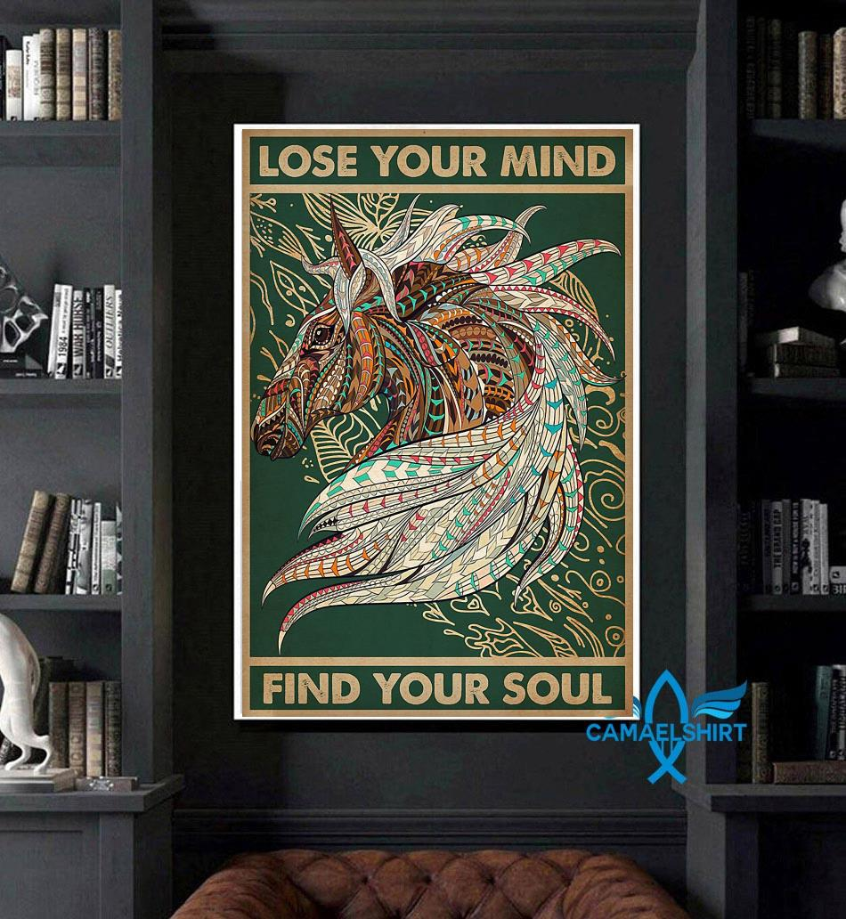Unicorn Native lose your mind find your soul poster art