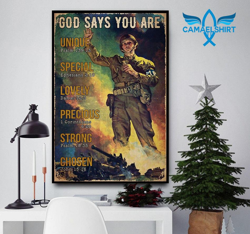 Veteran God says you are poster