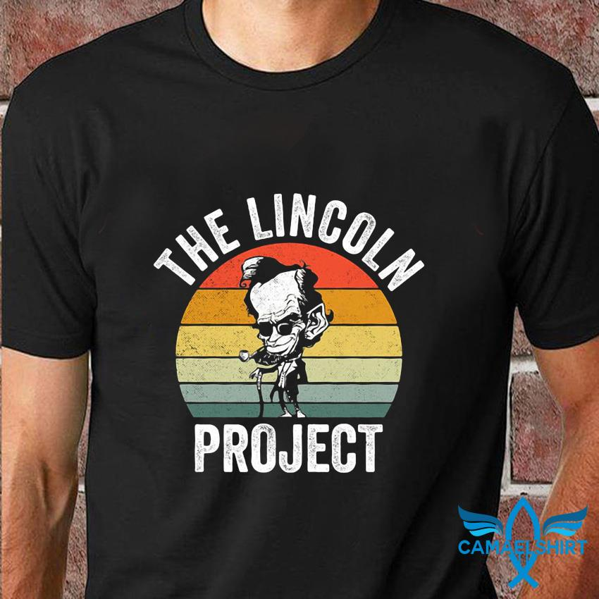 Vintage retro The Lincoln Project t-shirt
