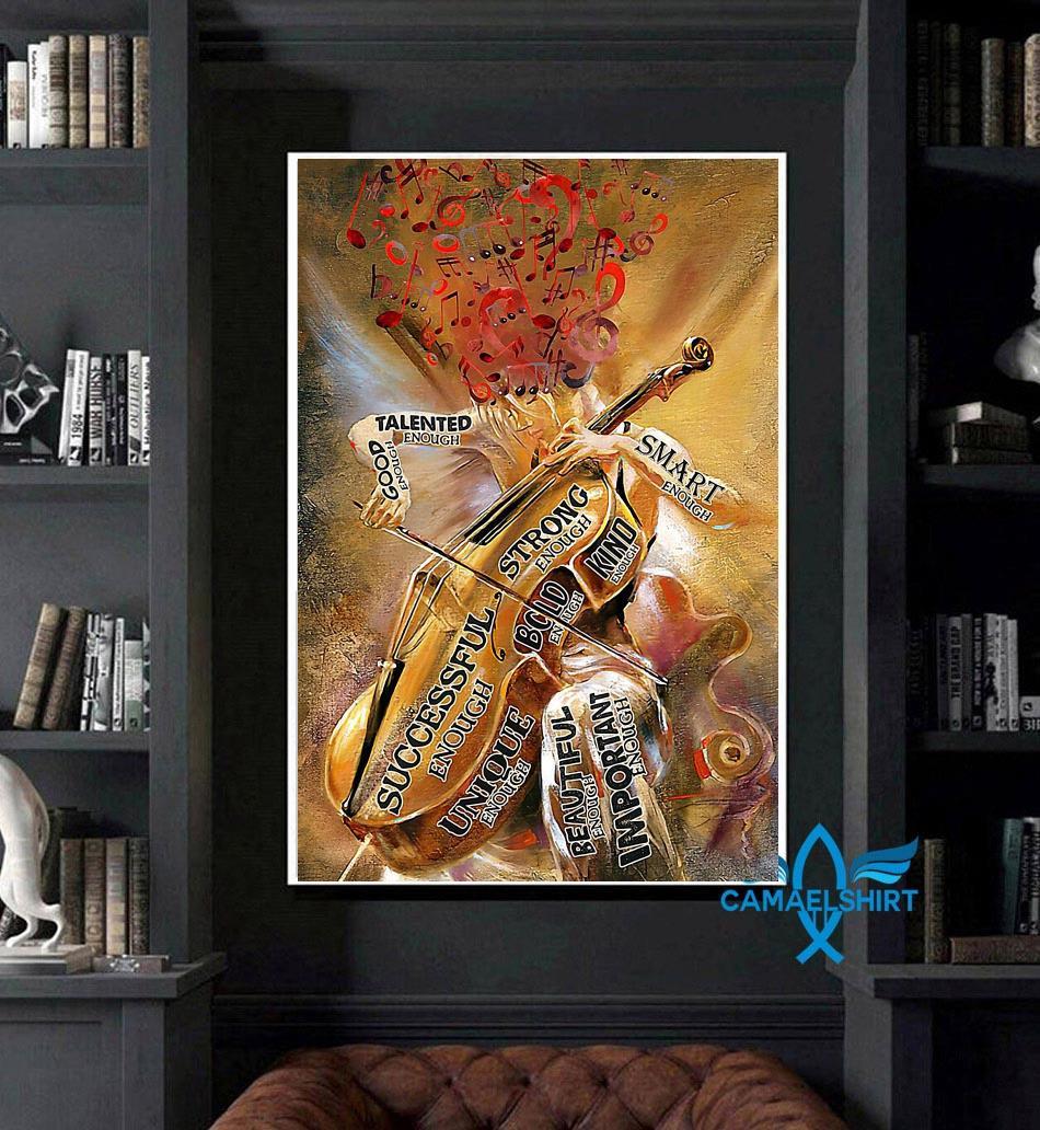 Violin girl talented enough poster art