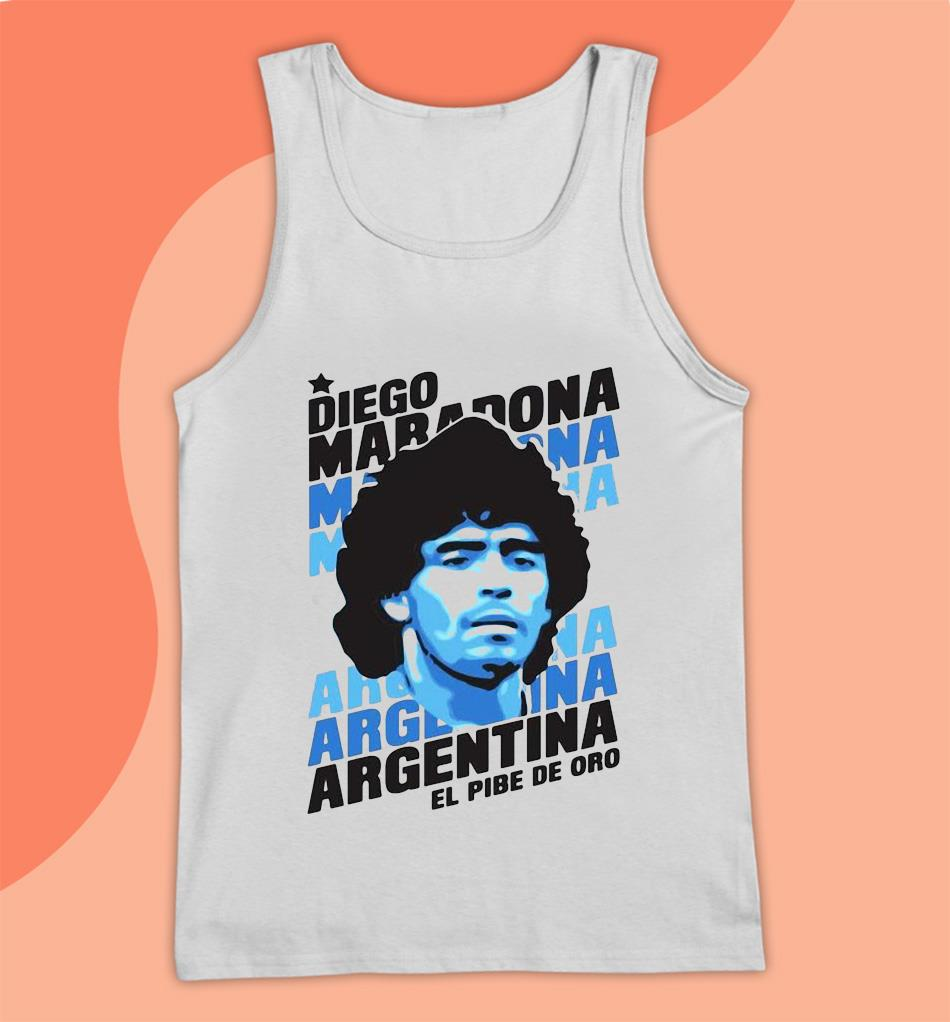 Always remember Rip Diego Maradona Argentina football t-s Tank top
