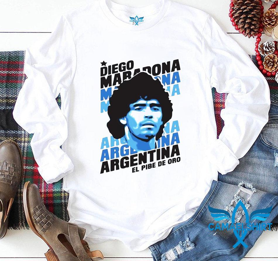 Always remember Rip Diego Maradona Argentina football t-s longsleeve