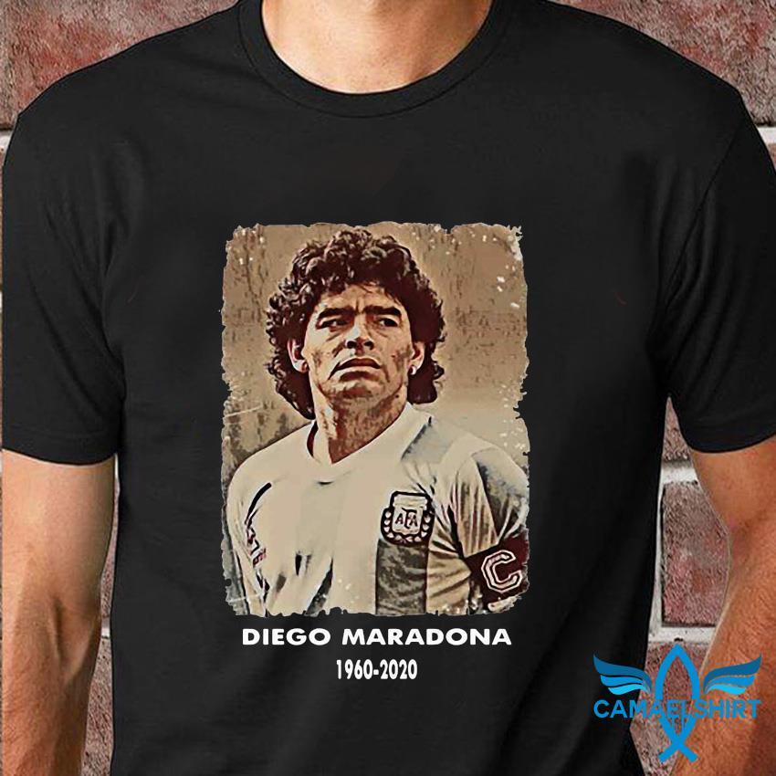 Diego Maradona Argentina soccer legend big loss t-shirt