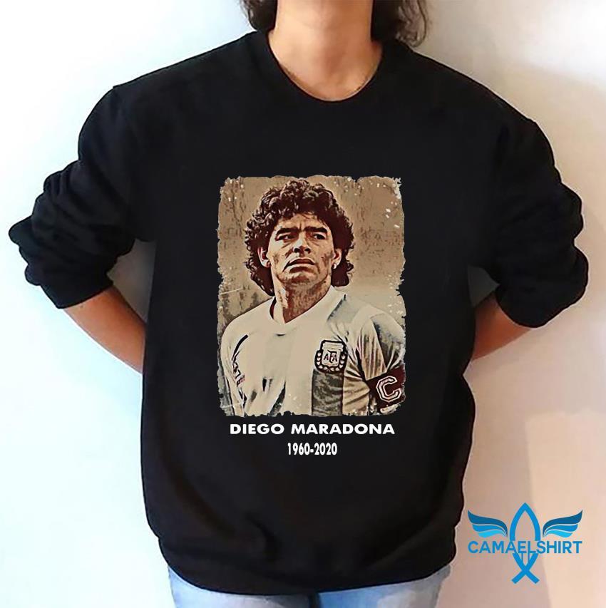 Diego Maradona Argentina soccer legend big loss t-s sweatshirt