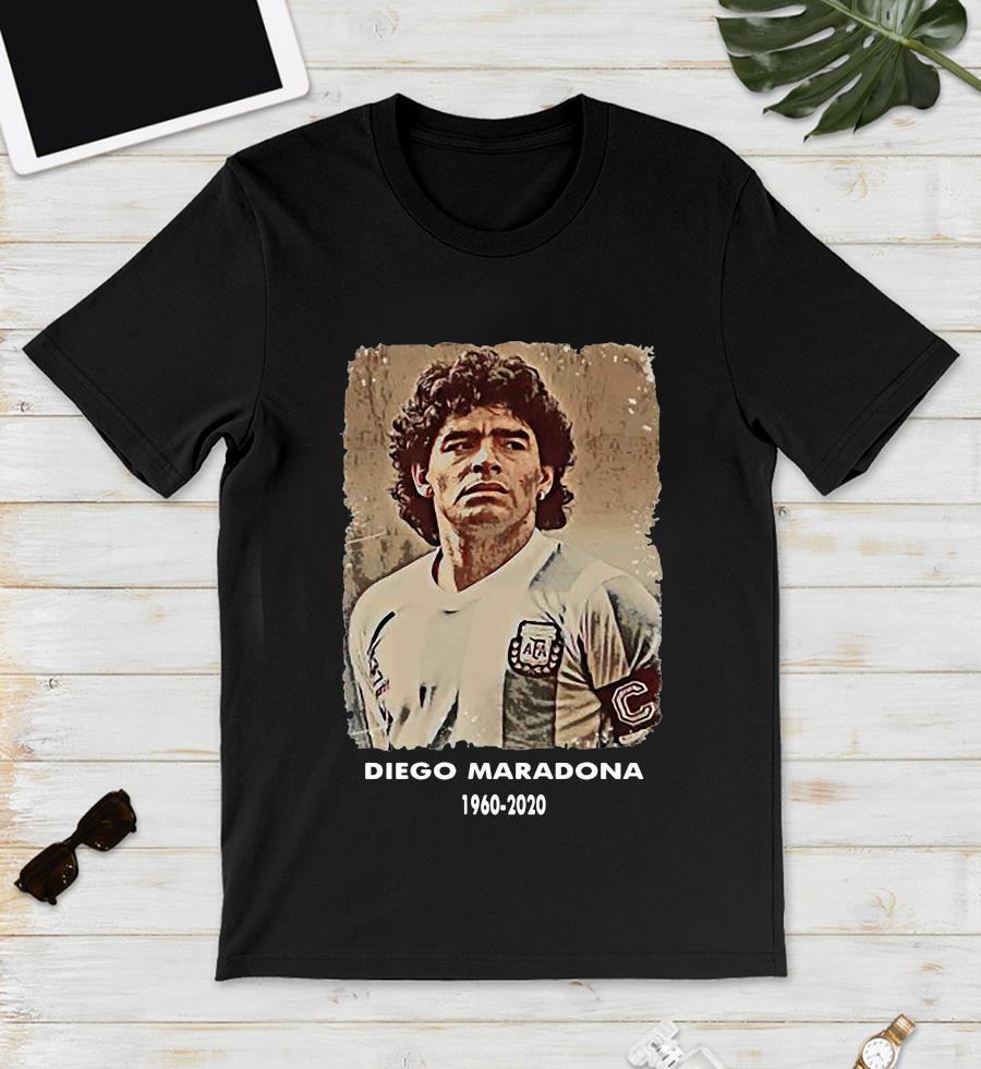 Diego Maradona Argentina soccer legend big loss t-s unisex