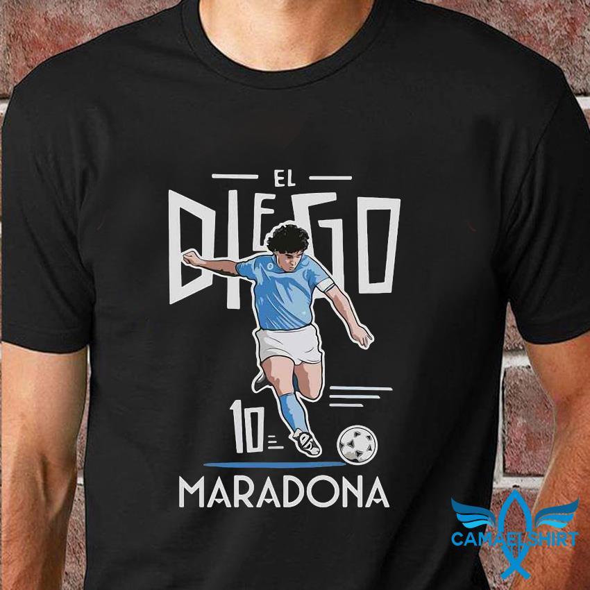 El Diego Maradona 10 rest in peace 1960-2020 shirt