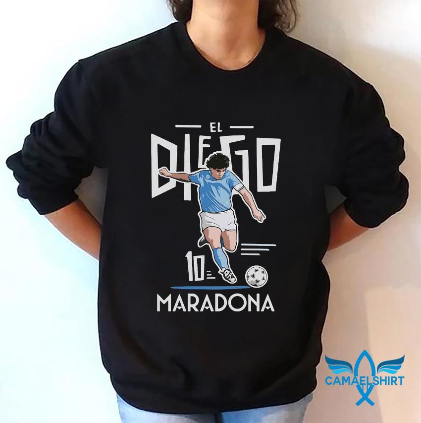 El Diego Maradona 10 rest in peace 1960-2020 s sweatshirt