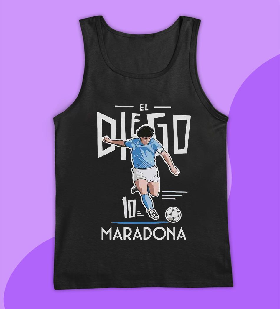 El Diego Maradona 10 rest in peace 1960-2020 s tank top