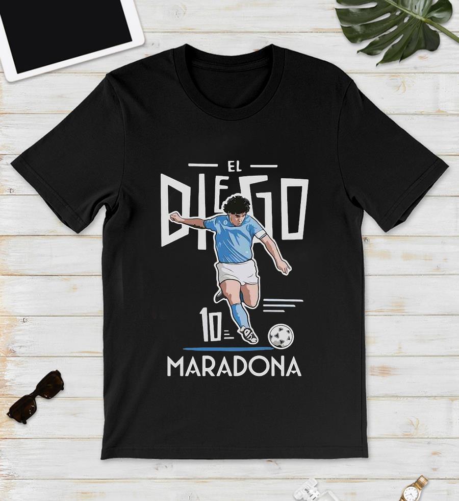 El Diego Maradona 10 rest in peace 1960-2020 s unisex
