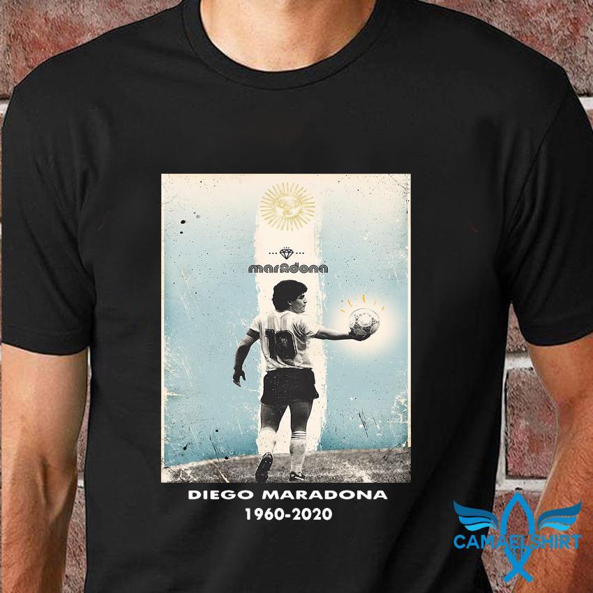 Goodbye Diego Maradona tribute 1960-2020 shirt