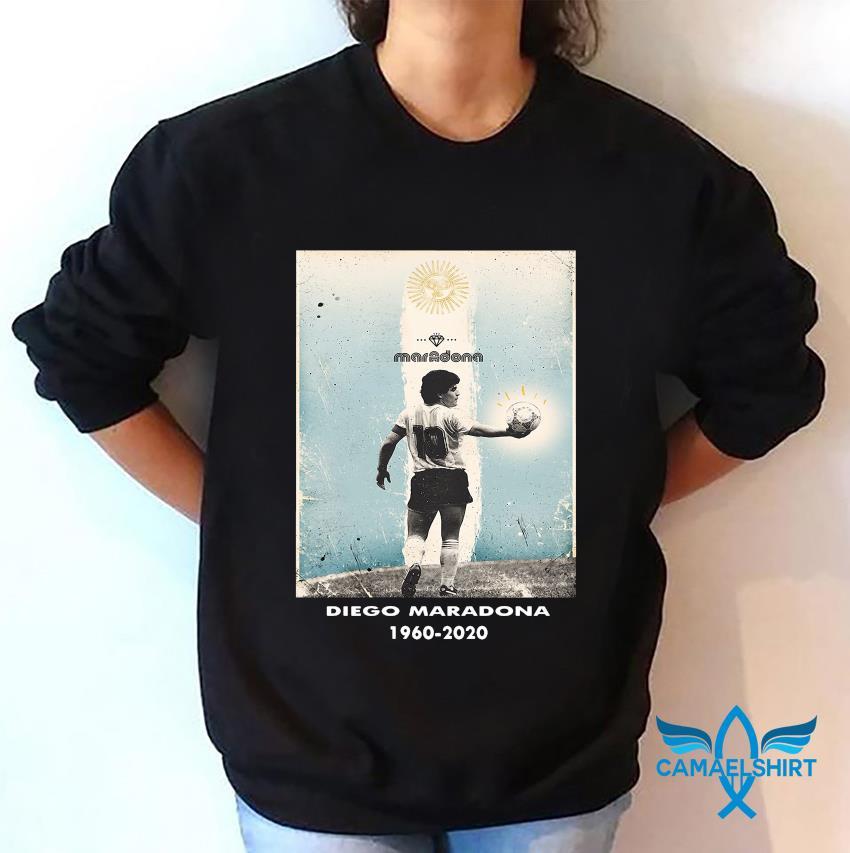 Goodbye Diego Maradona tribute 1960-2020 s sweatshirt