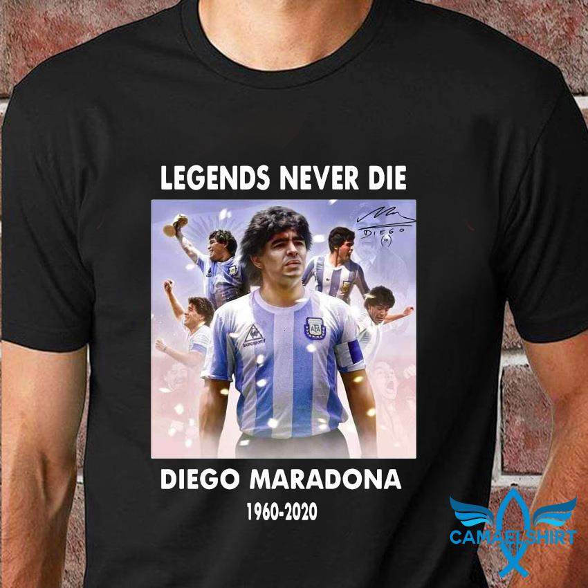 Legend never die Diego Maradona 1960-2020 shirt