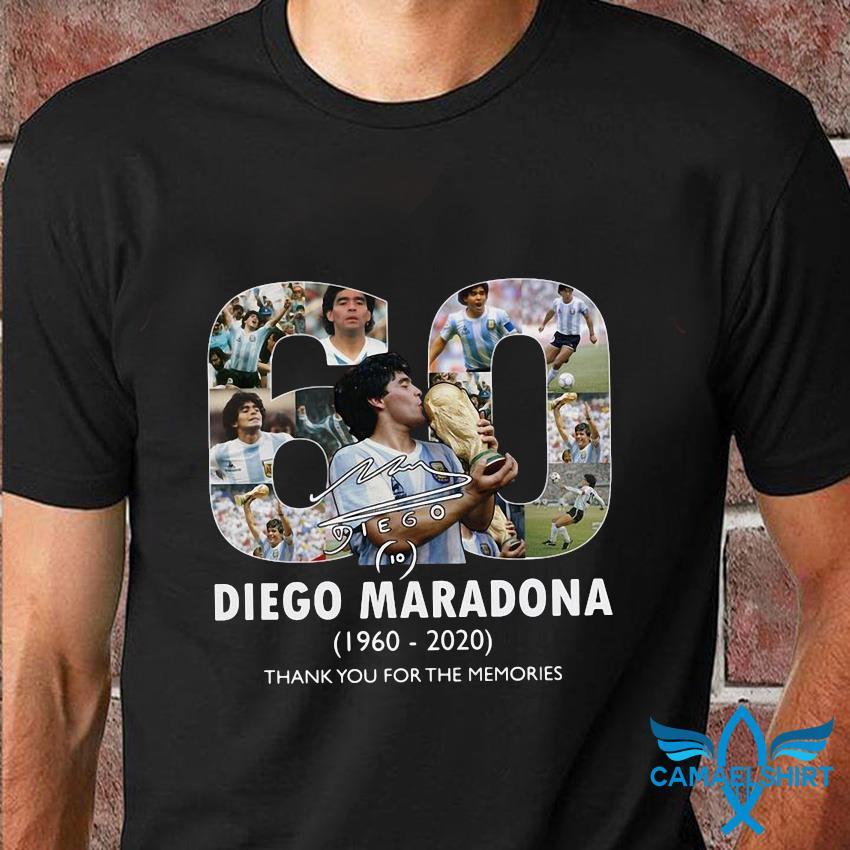 Mexico 1986 World Cup RIP Diego Maradona 1960 2020 t-shirt