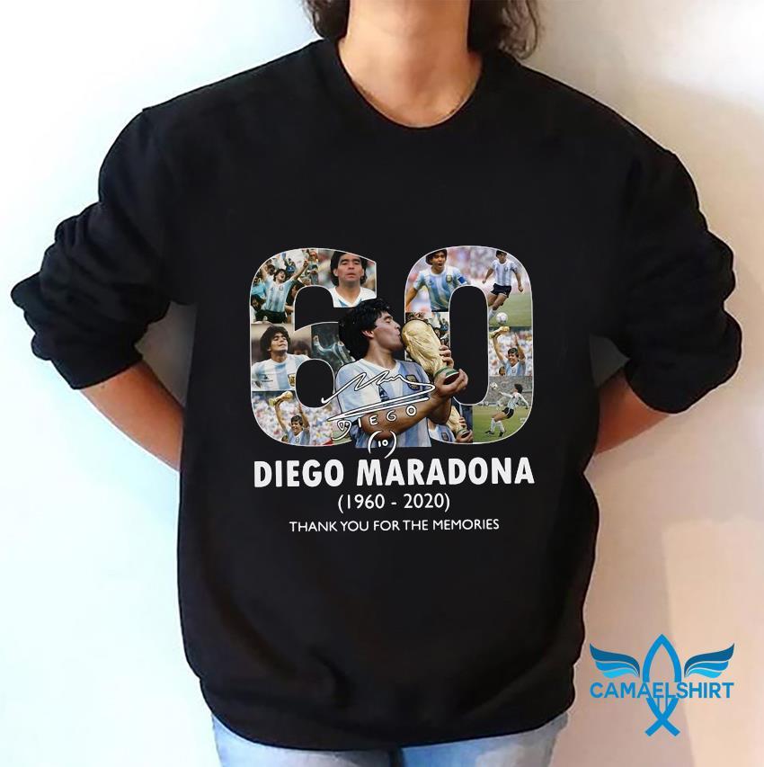 Mexico 1986 World Cup RIP Diego Maradona 1960 2020 t-s sweatshirt