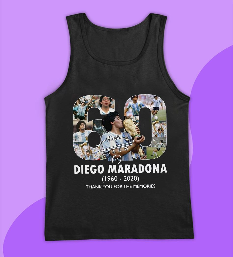 Mexico 1986 World Cup RIP Diego Maradona 1960 2020 t-s tank top