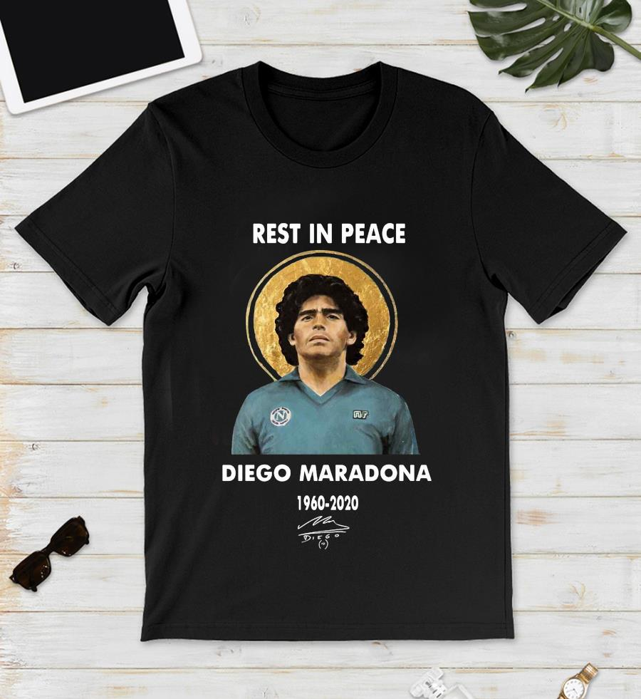 Rest In Peace 1960-2020 soccer legend Diego Maradona tribute s unisex