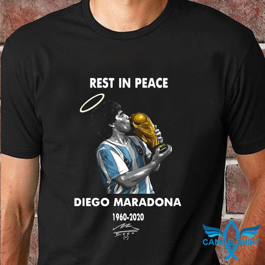 Rest in peace Diego Maradona legend t-shirt