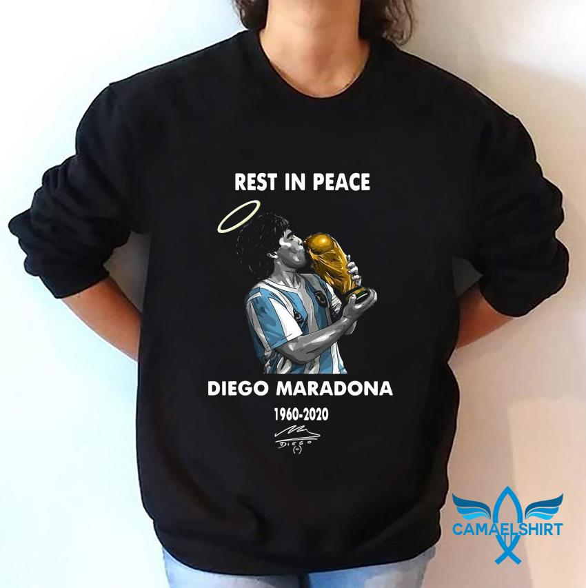 Rest in peace Diego Maradona legend t-s sweatshirt