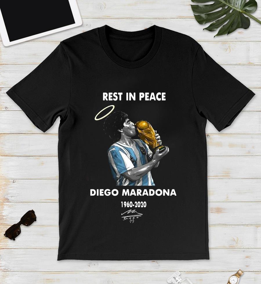 Rest in peace Diego Maradona legend t-s unisex