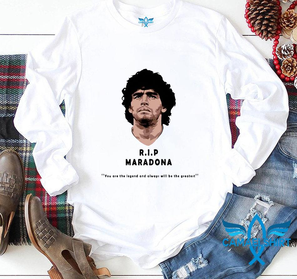 Rip Maradona The Golden Boy t-s longsleeve