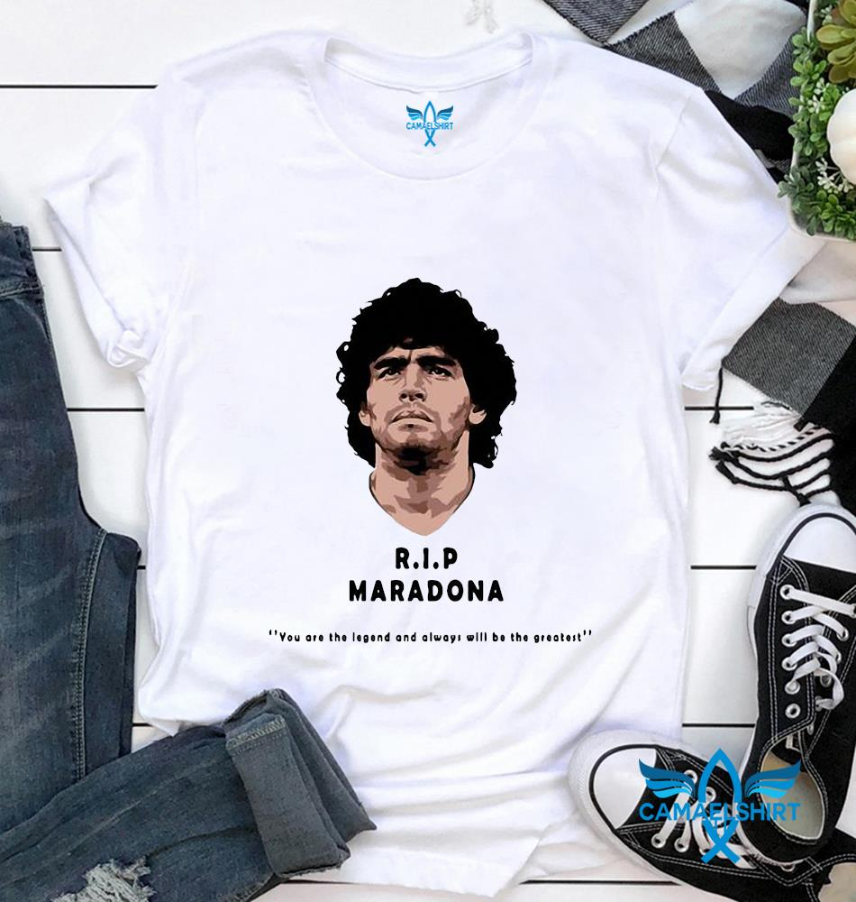 Rip Maradona The Golden Boy t-shirt