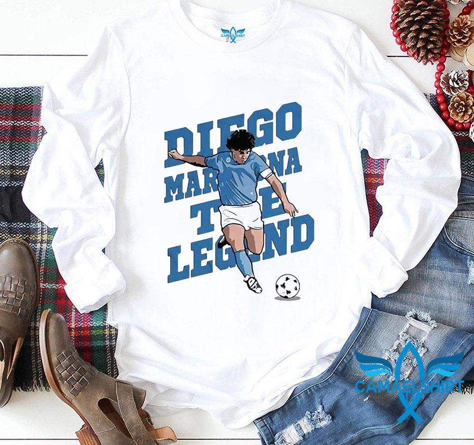 The golden boy hand of God Diego Maradona t-s longsleeve