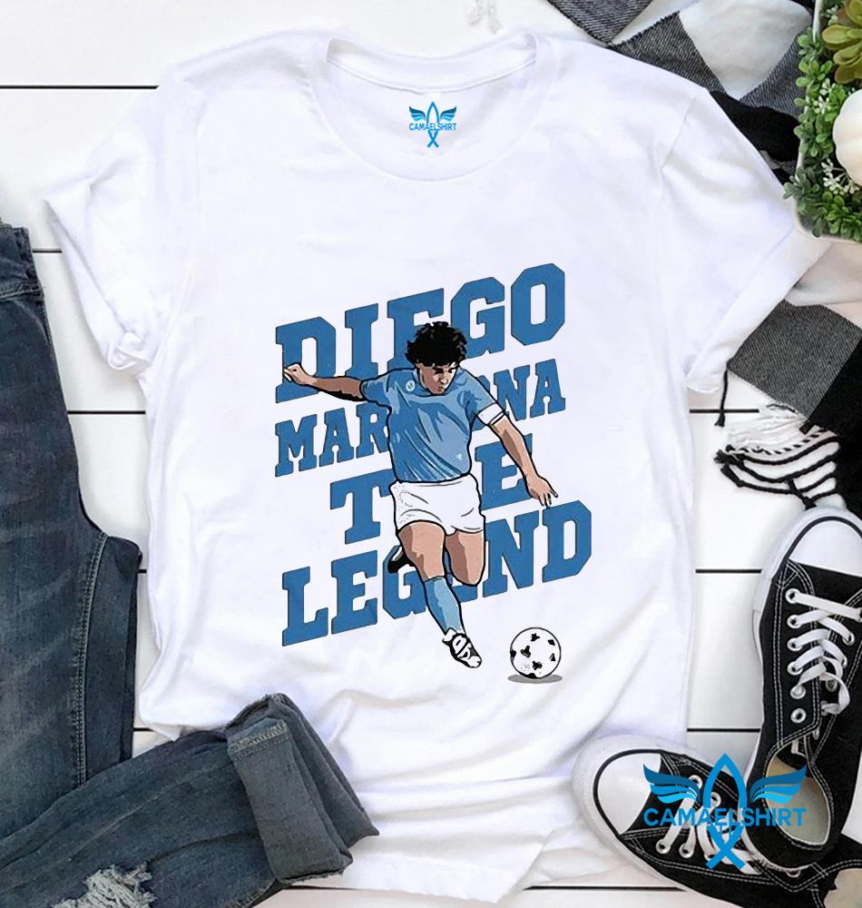 The golden boy hand of God Diego Maradona t-shirt