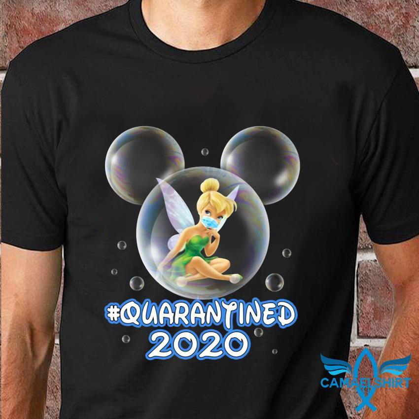Bubble Tinker Bell quarantined t-shirt
