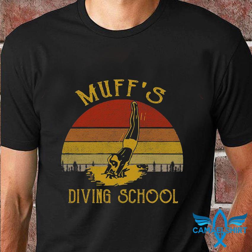 Vintage Muff's diving school t-shirt