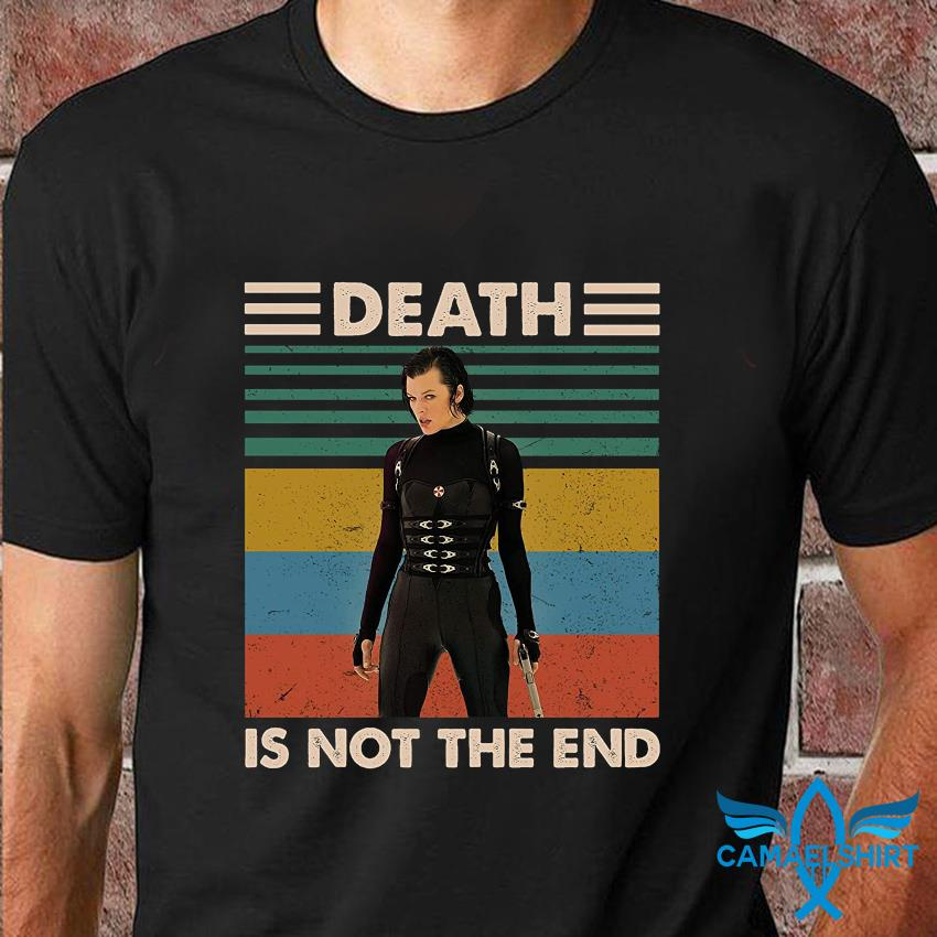 Alice death is not the end vintage t-shirt