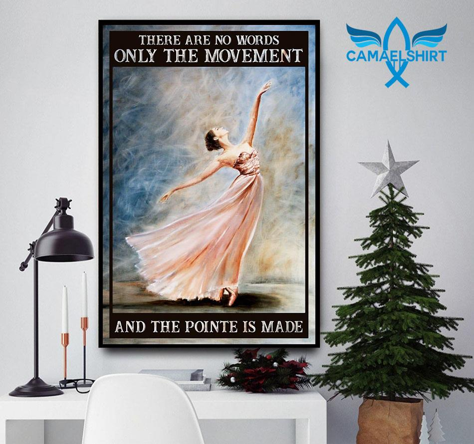 Ballet the movement of life poster