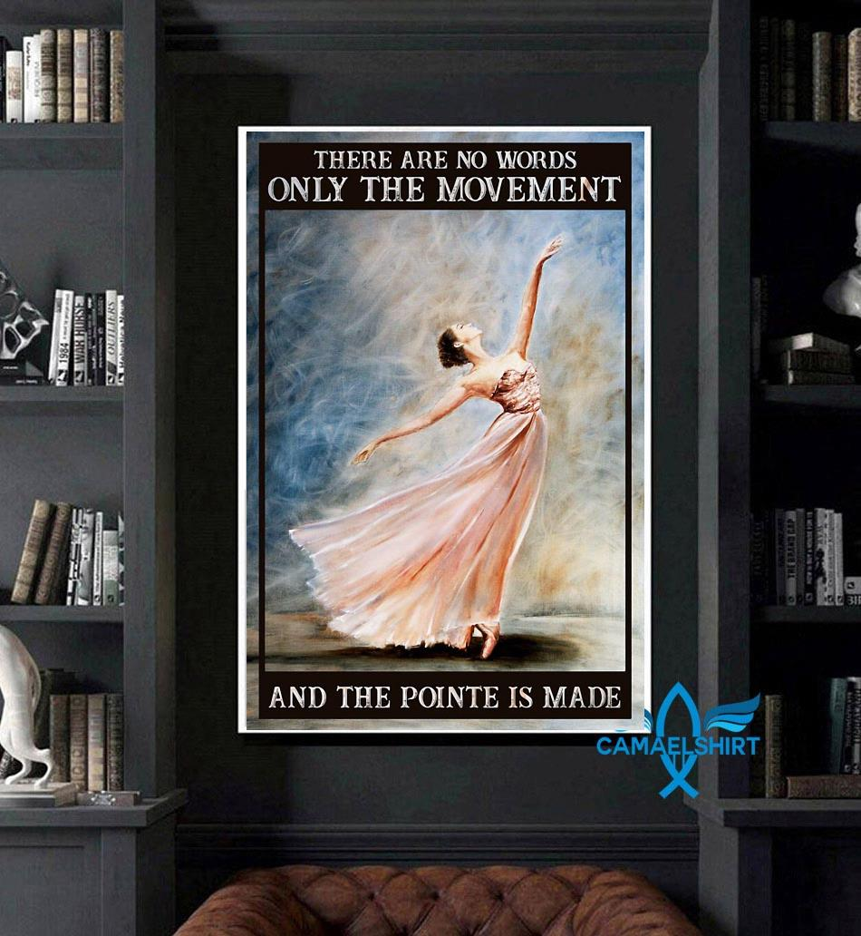Ballet the movement of life poster art