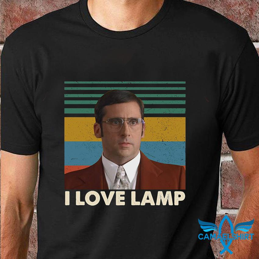 Brick Tamland I love lamp vintage t-shirt