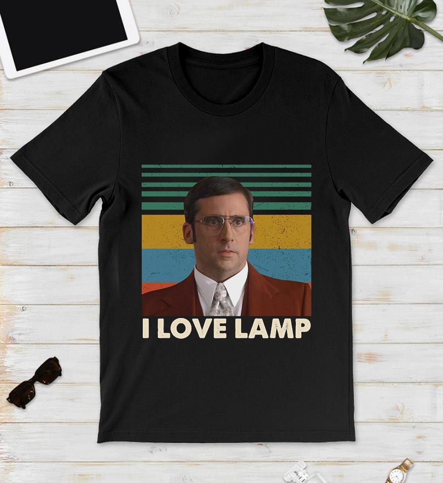 Brick Tamland I love lamp vintage t-s unisex