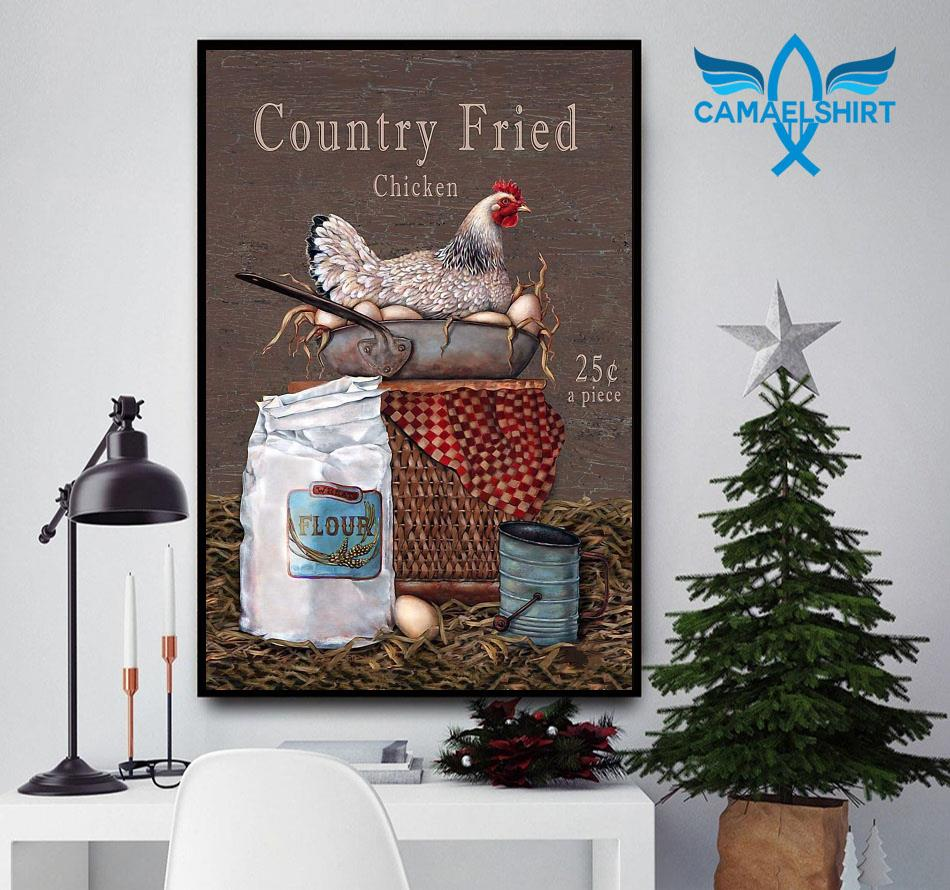 Country Fried Chicken vertical poster