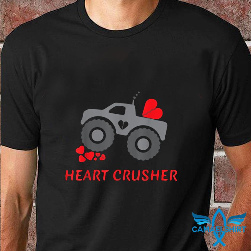 Heart crusher shirt boy valentines day t-shirt