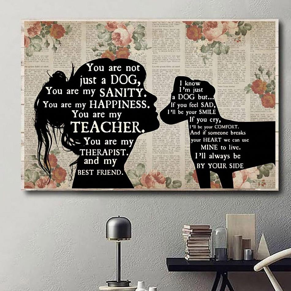 Jack Russell you are not just a dog you are my sanity happiness poster