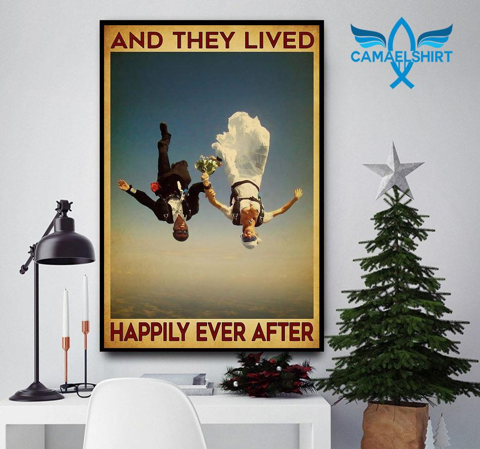 Sky Diving and they lived happily ever after poster
