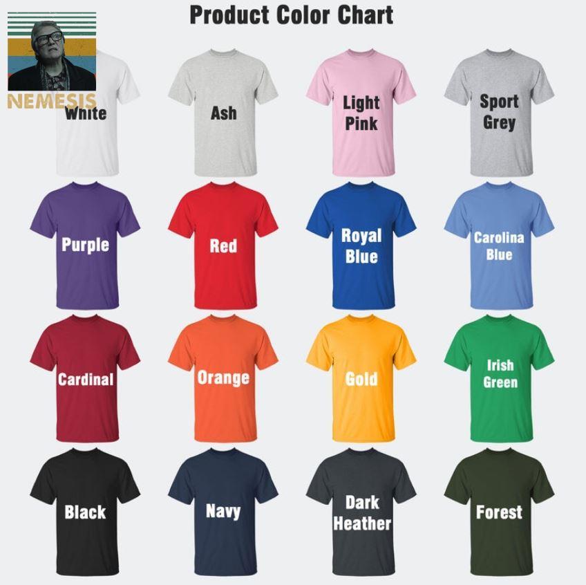 Snatch Brick Top nemesis vintage t-s Camaelshirt Color chart
