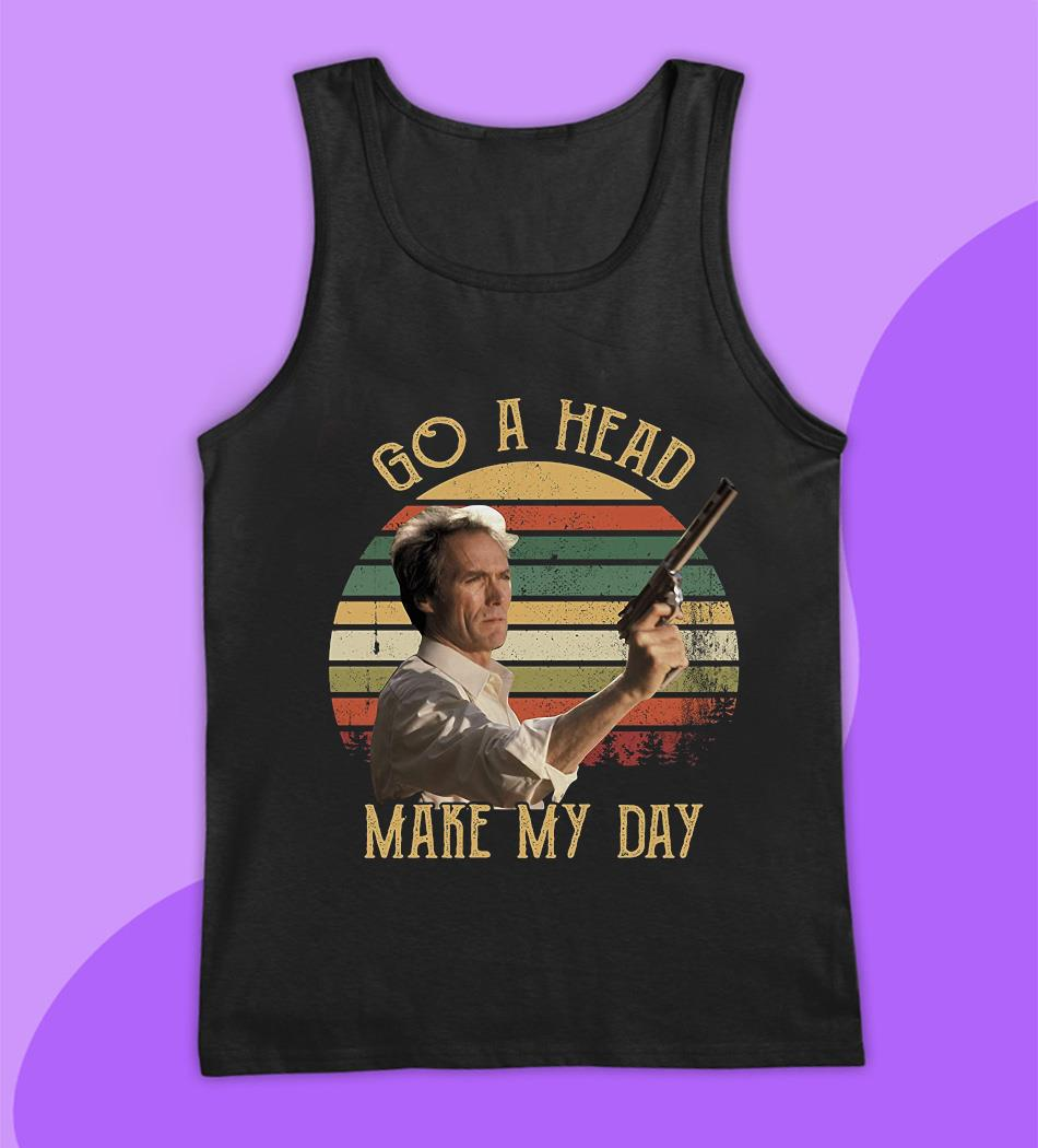 Sudden Impact go ahead make my day vintage t-s tank top